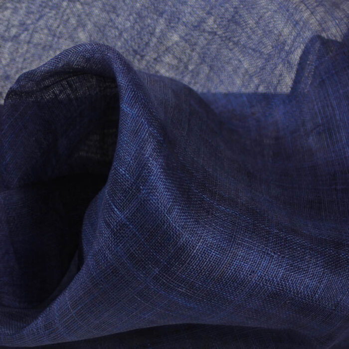 Dark Navy Pinokpok is in the sinamay family with lots more body and wonderful draping qualities.