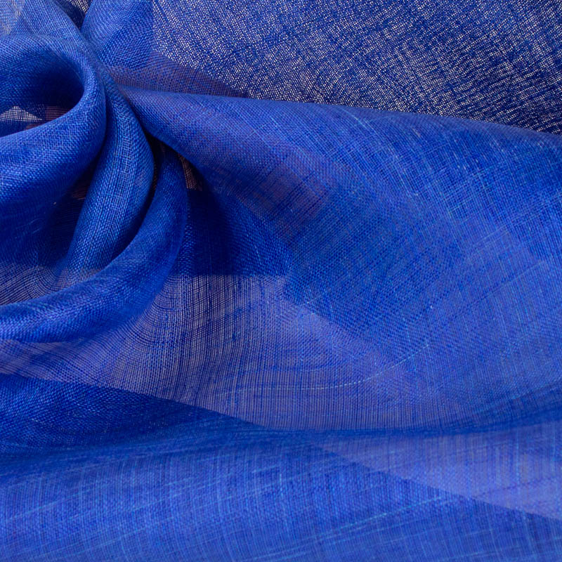 Royal Blue Pinokpok is in the sinamay family with lots more body and wonderful draping qualities.