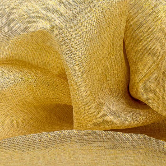 Natural and Gold Metallic Pinokpok cloth