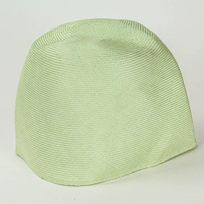 Mint Grade I parasisal hood. Finely woven straw with sheen