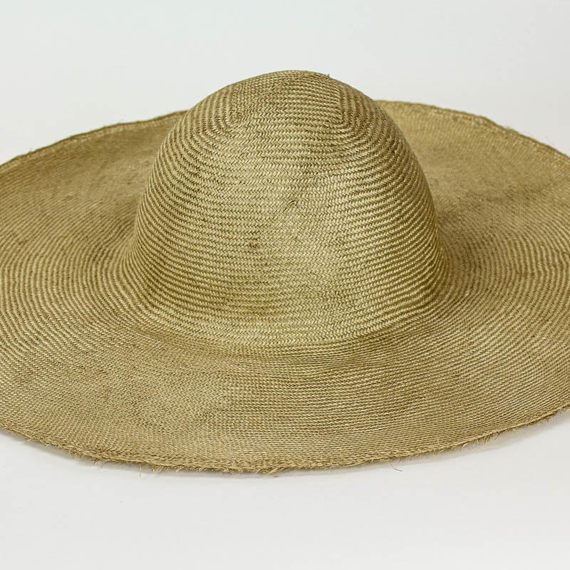 "Golden Camel Grade One Parasisal 6"" body. Finely woven straw"