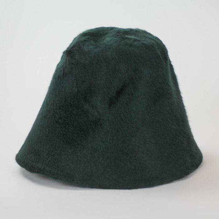 Deeper green than hunter. Hoods have 10/11 inch depth (85 grams).