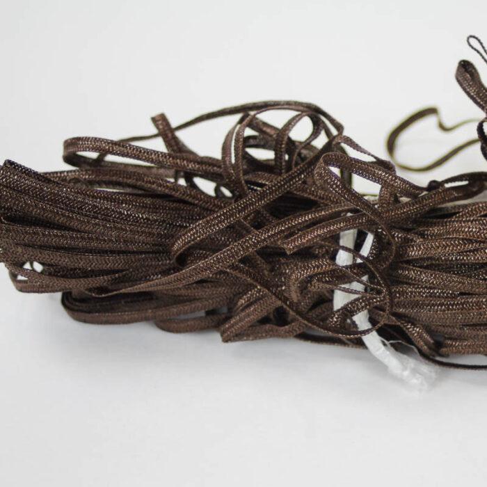 Swiss shiny Cellulose blend Braid, 5mm width