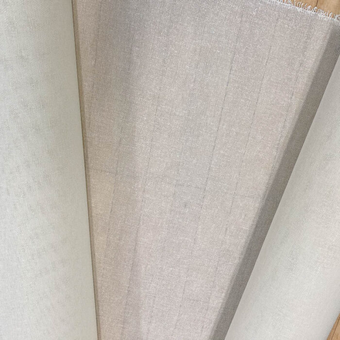 White Heavy buckram, Current batch is 44-inches wide (111cm).