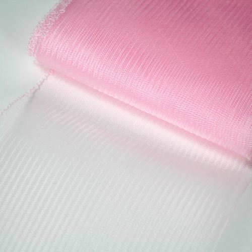 Pink Horsehair 100% quality polyester, very flexible, used in making hats and for trim work.
