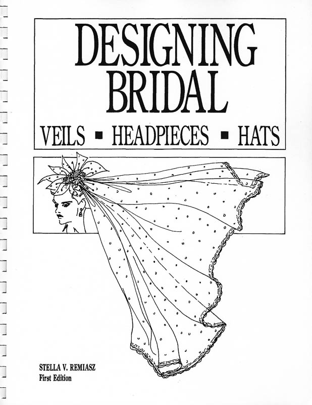 Veils, veiling and poufs. Trims using Fabric flowers and bows and basic beading how to. A variety of Bridal foundation frames.