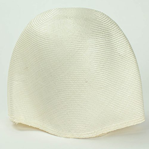 Natural, un dayed, Grade One Parasisal hood. Finely woven straw with sheen