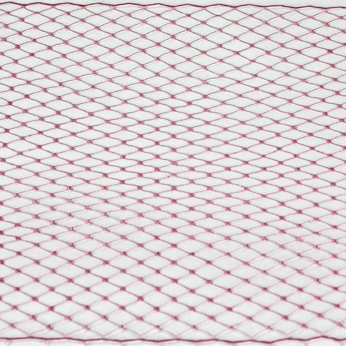 Old Rose Standard diamond pattern with 1/4 inch opening, 8-9 inch width, 100% nylon.