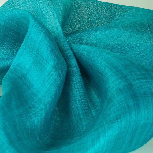Turquoise Blue Pinokpok sinamay cloth