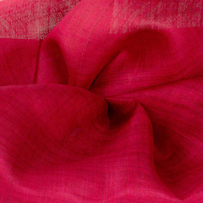 Deep Red Pinokpok sinamay cloth