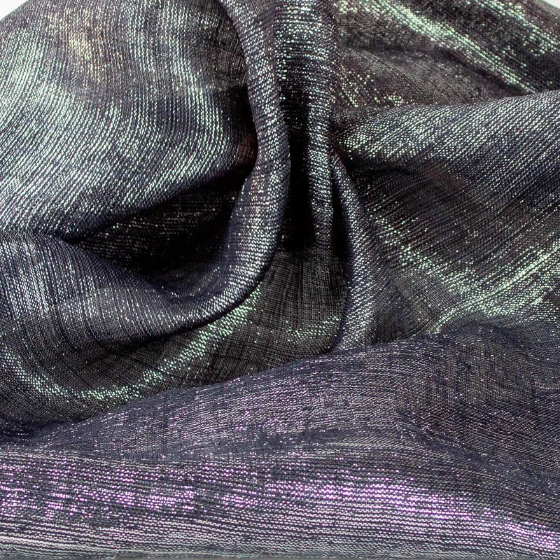 Metallic Black and Silver Pinokpok cloth