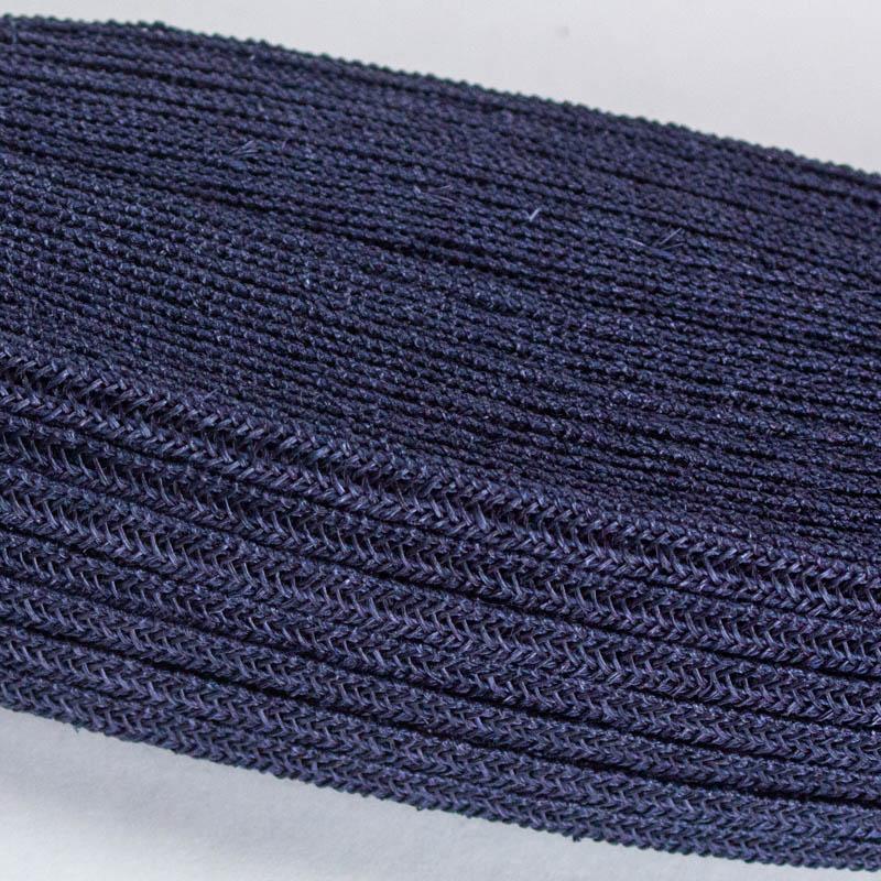 Navy blue Abaca and Hemp blend Braiding