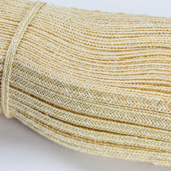 Ivory Abaca and Hemp blend Braiding