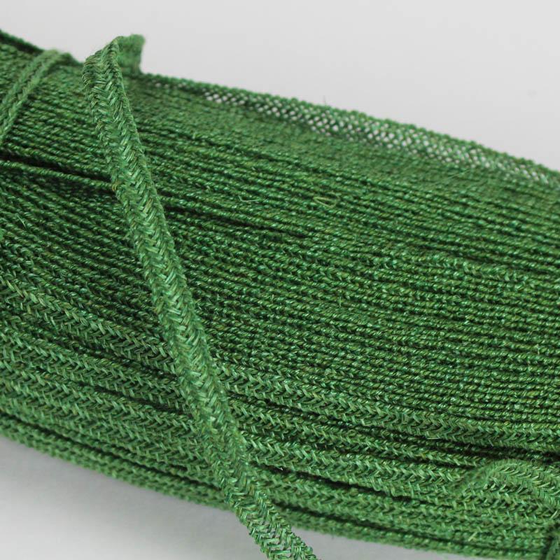 Emerald Green Abaca and Hemp blend Braiding