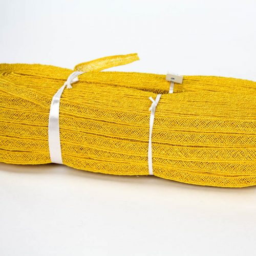 Golden Yello Abaca and Hemp blend Braiding