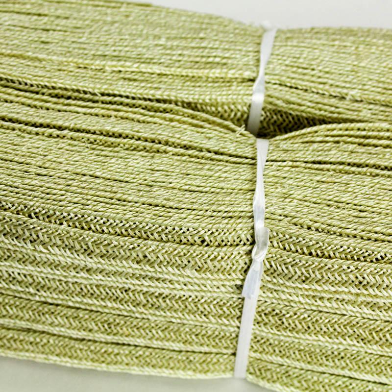 Pale Sage green Abaca and Hemp blend Braiding