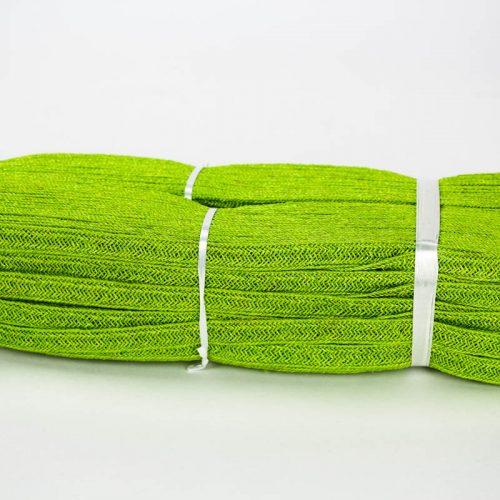Lime Green Abaca and Hemp blend Braiding