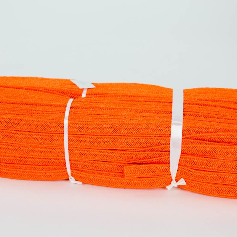 Orange Abaca and Hemp blend Braiding