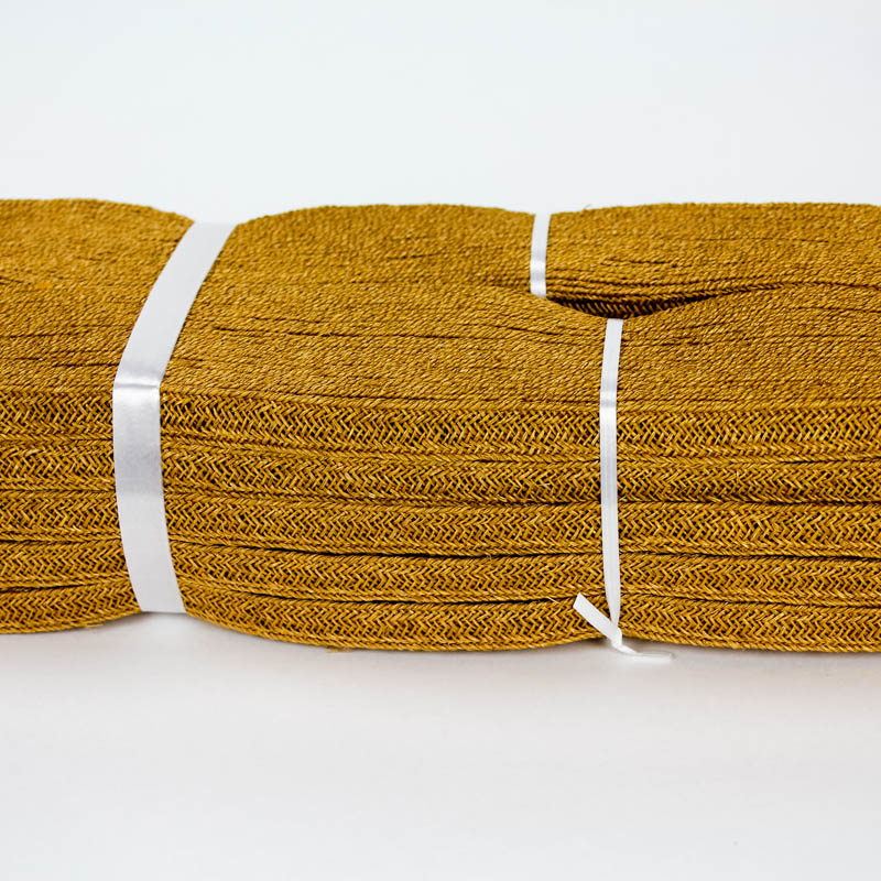 Old Gold Abaca and Hemp blend Braiding