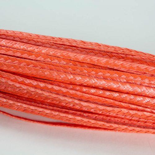 Deep Orange Standard weave pattern.