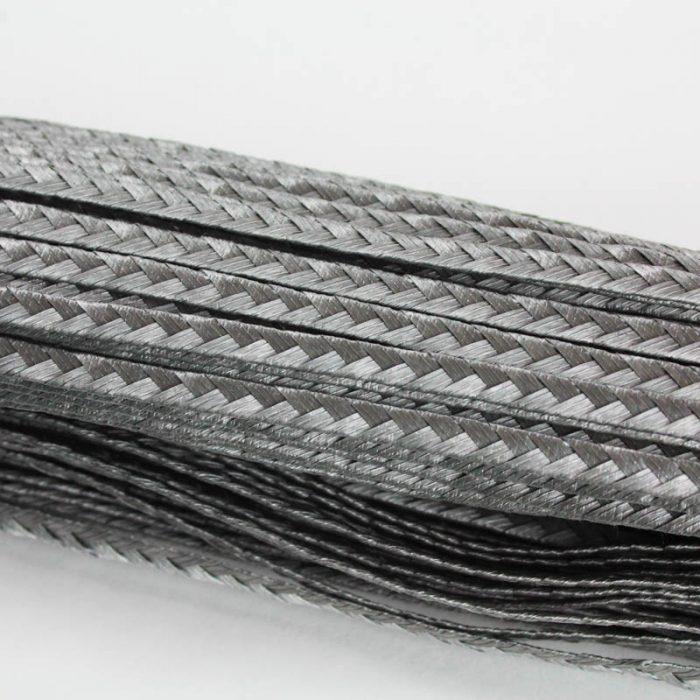 Grey Standard weave pattern.