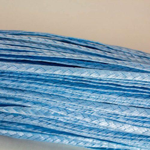 Light Blue Standard weave pattern.