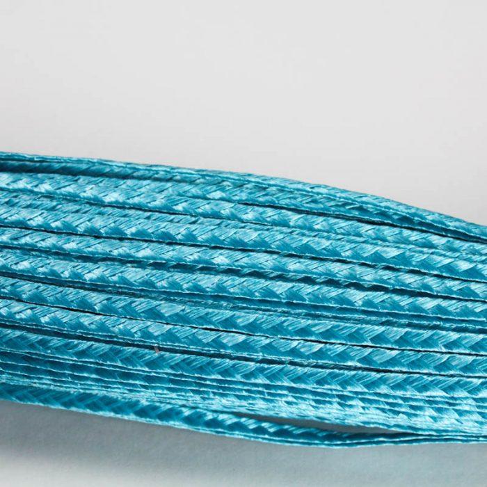 Turquoise Standard weave pattern.