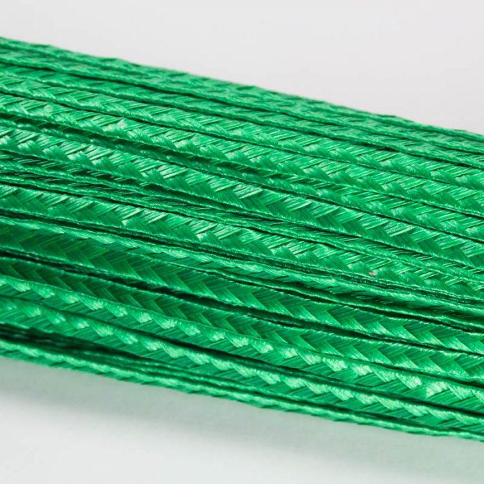 Bright Green Standard weave pattern.