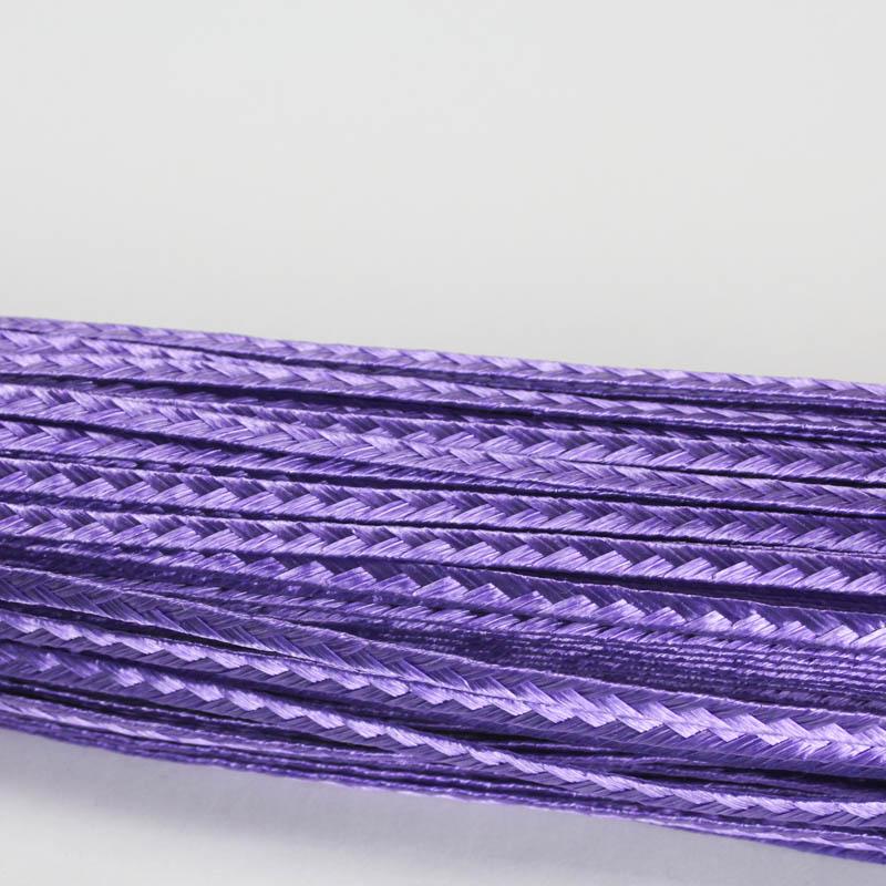 Deep lavender Standard weave pattern.