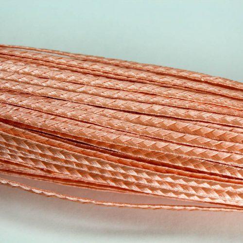 Peach Standard weave pattern.
