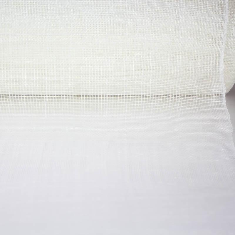 White Sinamay yardage