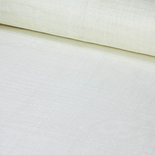 Ivory sinamay yardage
