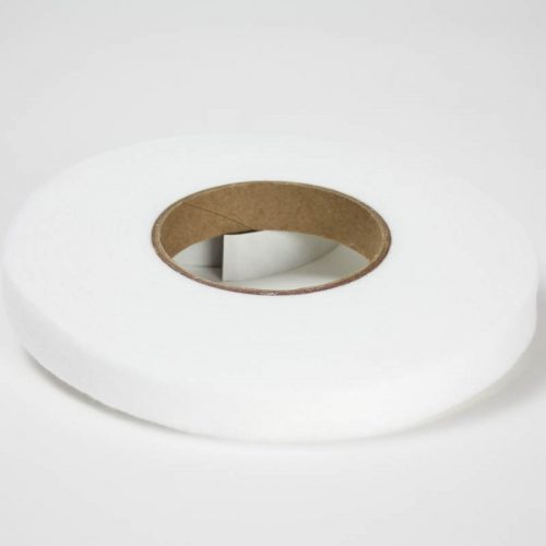 Synthetic felt strip on a roll, place inside hat to reduce size.