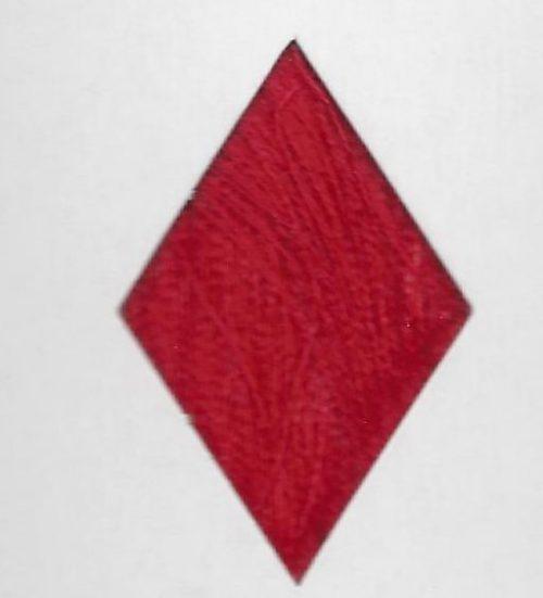 Red waxed thread