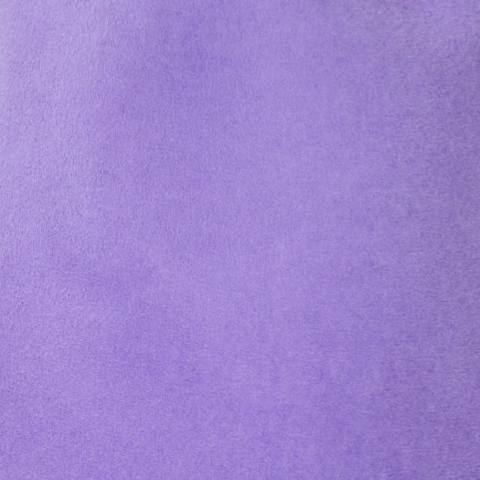 Lavender capeline with velour finish on outside only.