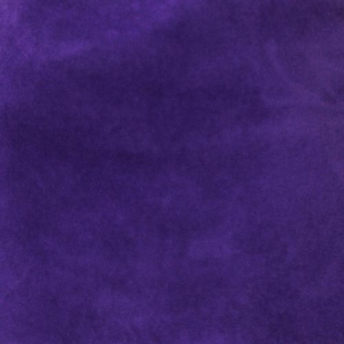 Bright purple capeline with velour finish on outside only.