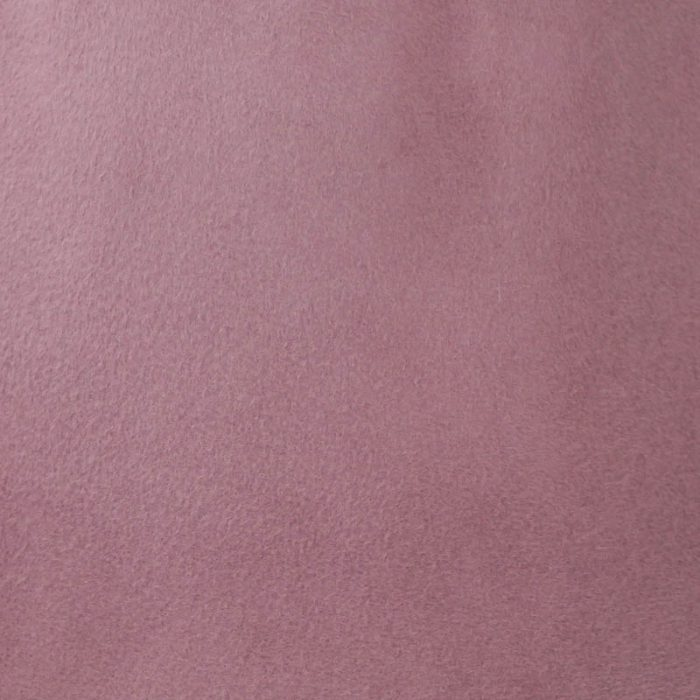 Old rose capeline with velour finish on outside only.
