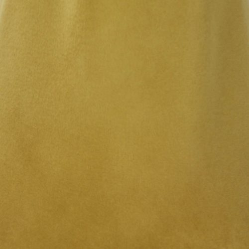 Autumn gold or desert gold capeline with velour finish on outside only.