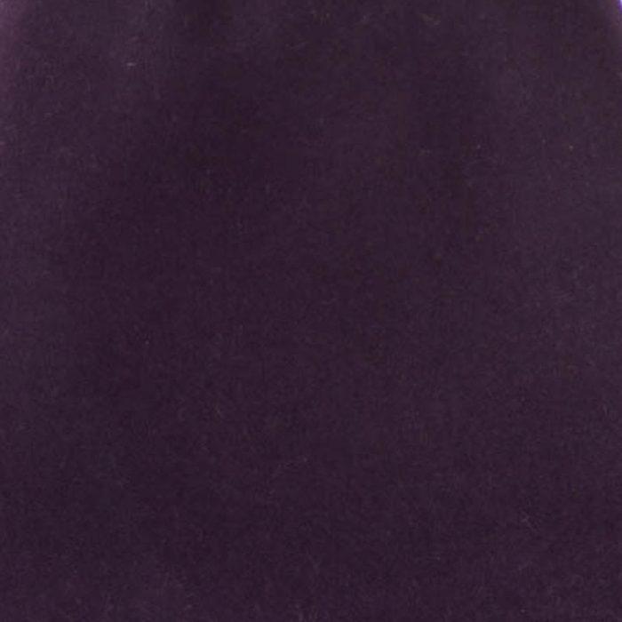 Deep Aubergine 100% rabbit fur felt, excellent quality with standard felt finish.