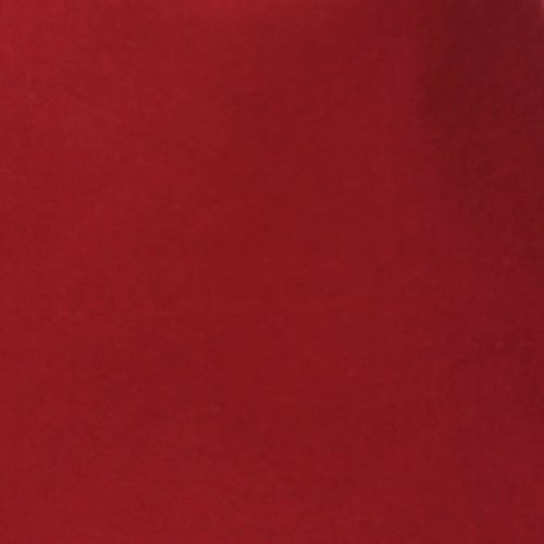 Deep Red 100% rabbit fur felt, excellent quality with standard felt finish.