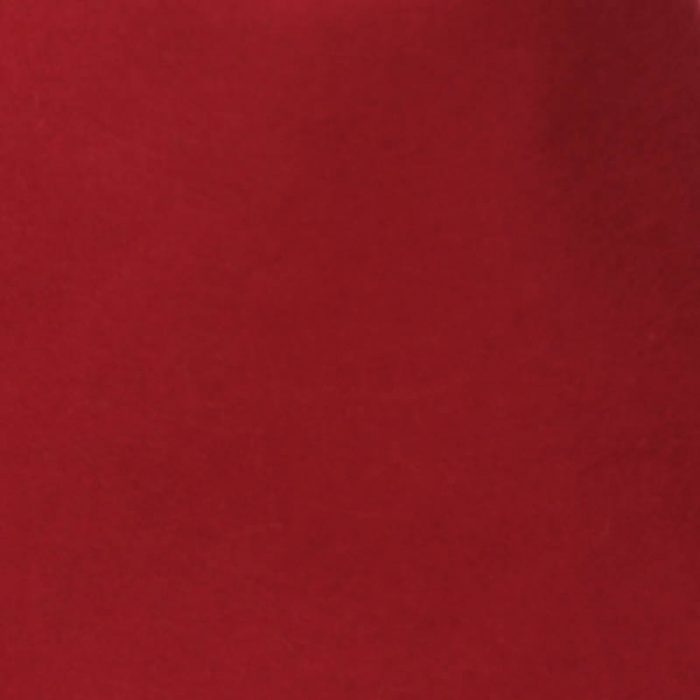 Deep Red 100% rabbit fur felt, excellent quality with standard felt finish.