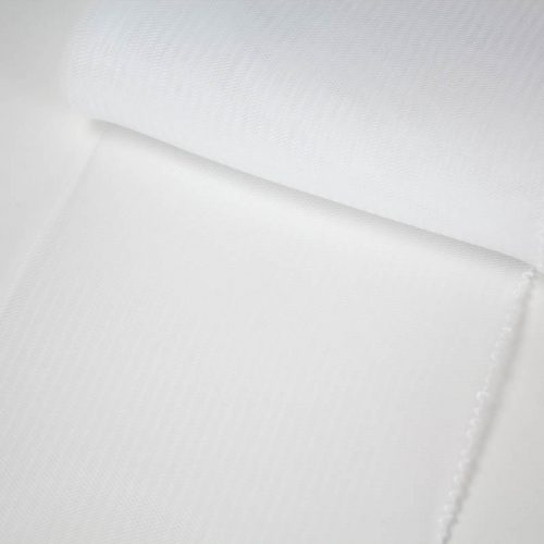 White horsehair 100% quality polyester, very flexible, used in making hats and for trim work.