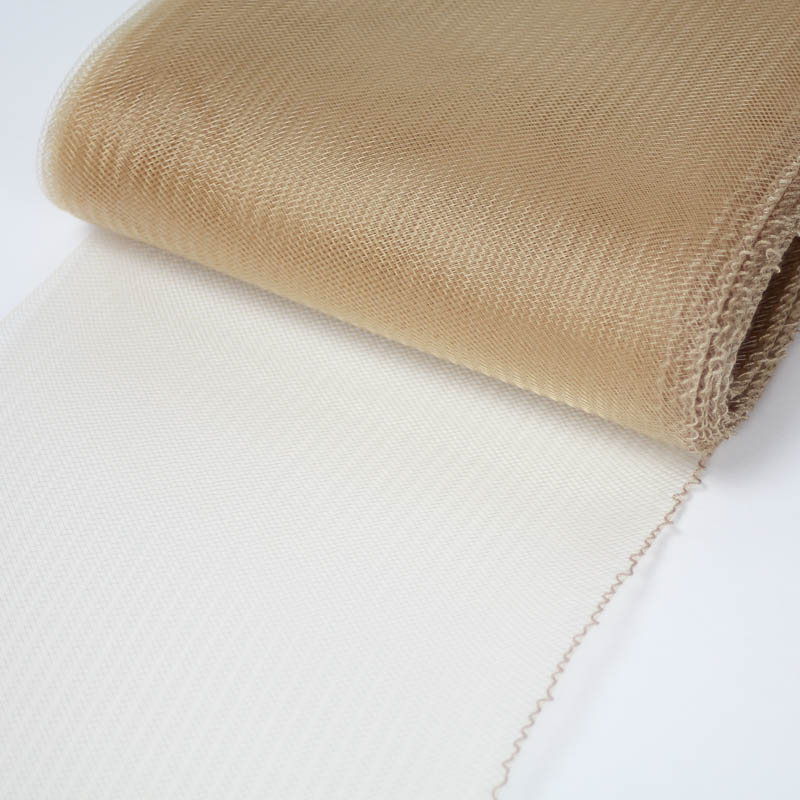Camel Tan Horsehair 100% quality polyester, very flexible, used in making hats and for trim work.