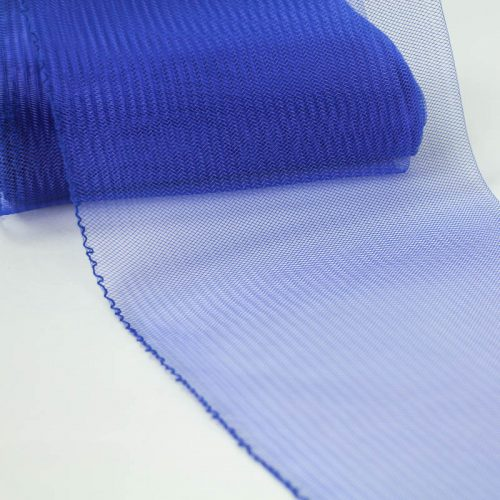 Royal Blue Horsehair 100% quality polyester, very flexible, used in making hats and for trim work.