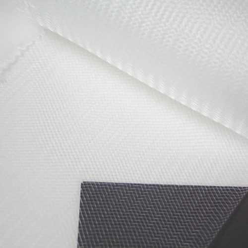 Clear stiff horsehair is 100% quality polyester, flexible but not soft