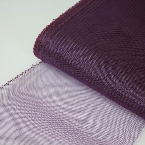 Plum Horsehair 100% quality polyester, very flexible, used in making hats and for trim work.