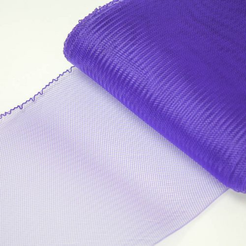 Purple Horsehair 100% quality polyester, very flexible, used in making hats and for trim work.
