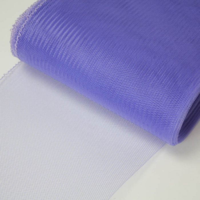 Lavender Blue Horsehair 100% quality polyester, very flexible, used in making hats and for trim work.