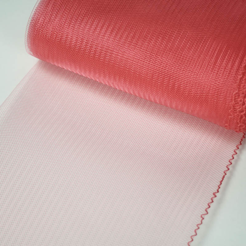 Coral horsehair 100% quality polyester, very flexible, used in making hats and for trim work.