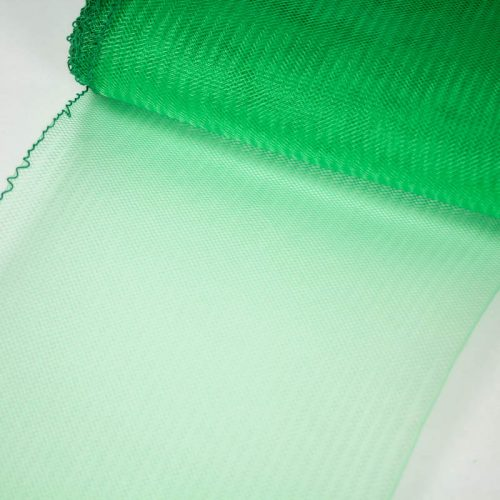Bright Green Horsehair 100% quality polyester, very flexible, used in making hats and for trim work.